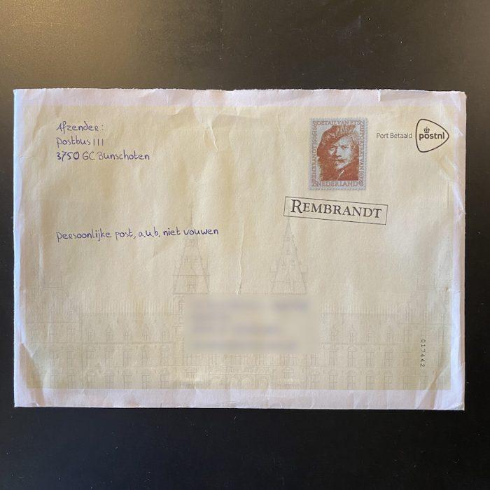 PSI_envelop_handgeschreven